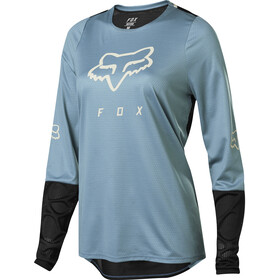 Fox Defend Maglia Jersey A Maniche Lunghe Donna, light blue